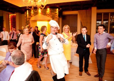 Our Singing Chef in Cabra Castle