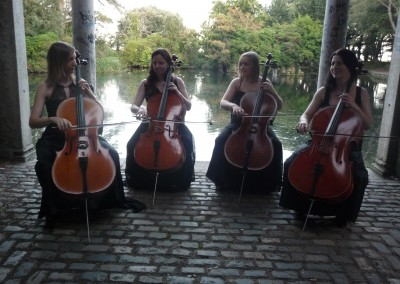 Cellos - Outdoor Wedding
